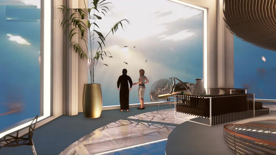 The residences onboard the Blue Estate are designed to provide unparalelled water access to owners and visitors.
