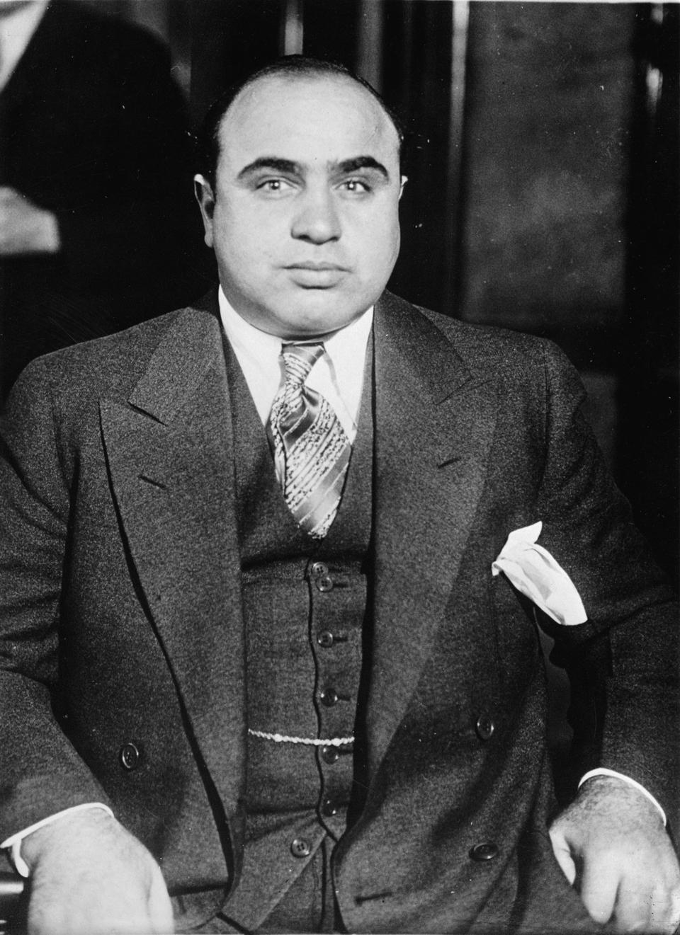 The king of gangsters Al Capone, March 5th 1932