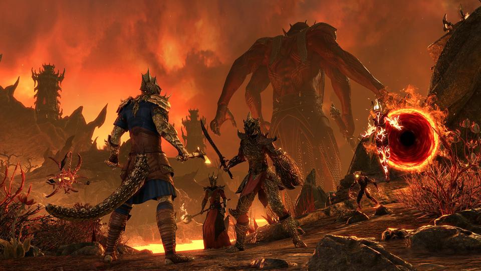 The Gates of Oblivion in Elder Scrolls Online.