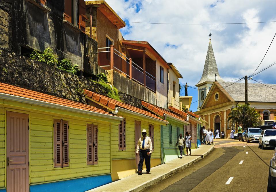 Grand'Riviere, Martinique