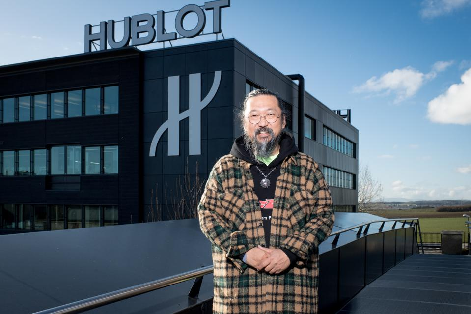 ″I love factories, so visiting the factory at Hublot's headquarters in Switzerland had pushed me to the pinnacle of my enthusiasm,″ says Murakami.