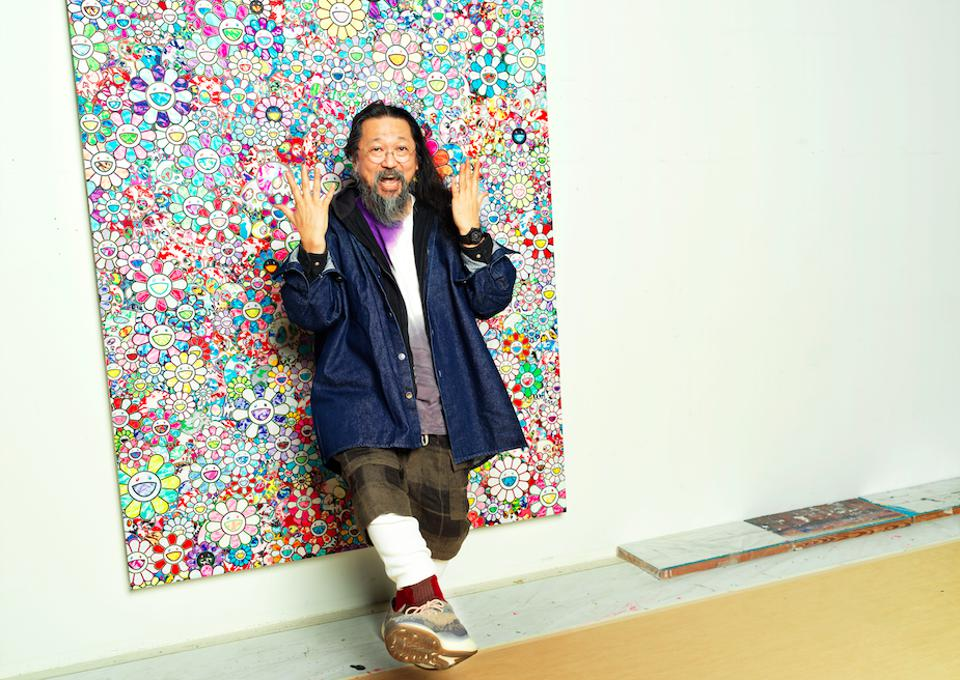 Happy Faces and Hublot: ″I think our job as artists is to always strive to be a punctuation mark in history,″ says contemporary artist Takashi Murakami