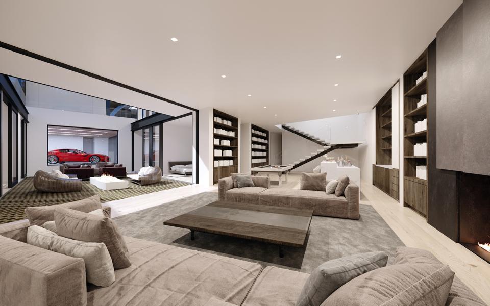 modern paul mcclean home at 1200 laurel way 90210