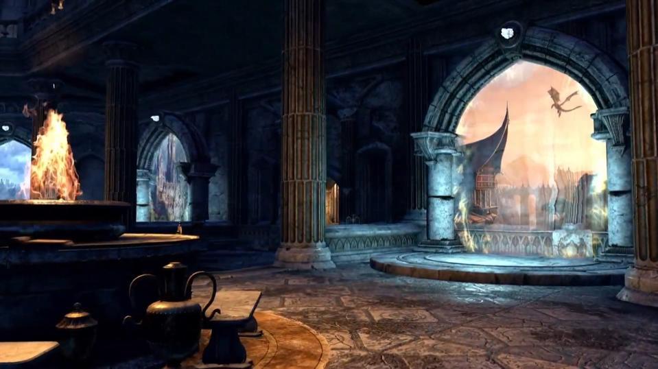 New tutorial area for Elder Scrolls Online.