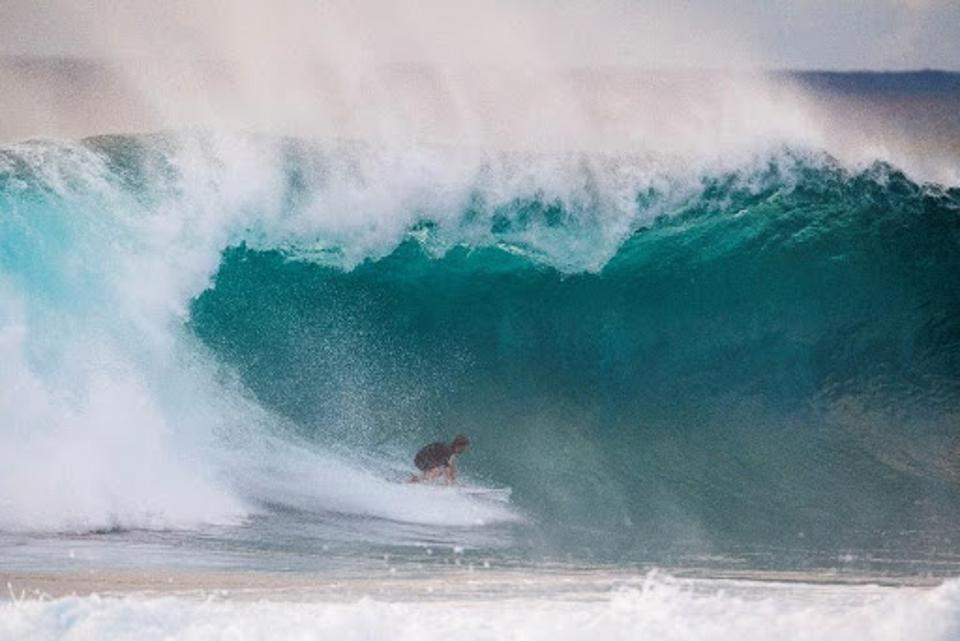 Nathan Florence at the 2020 Vans Triple Crown of Surfing