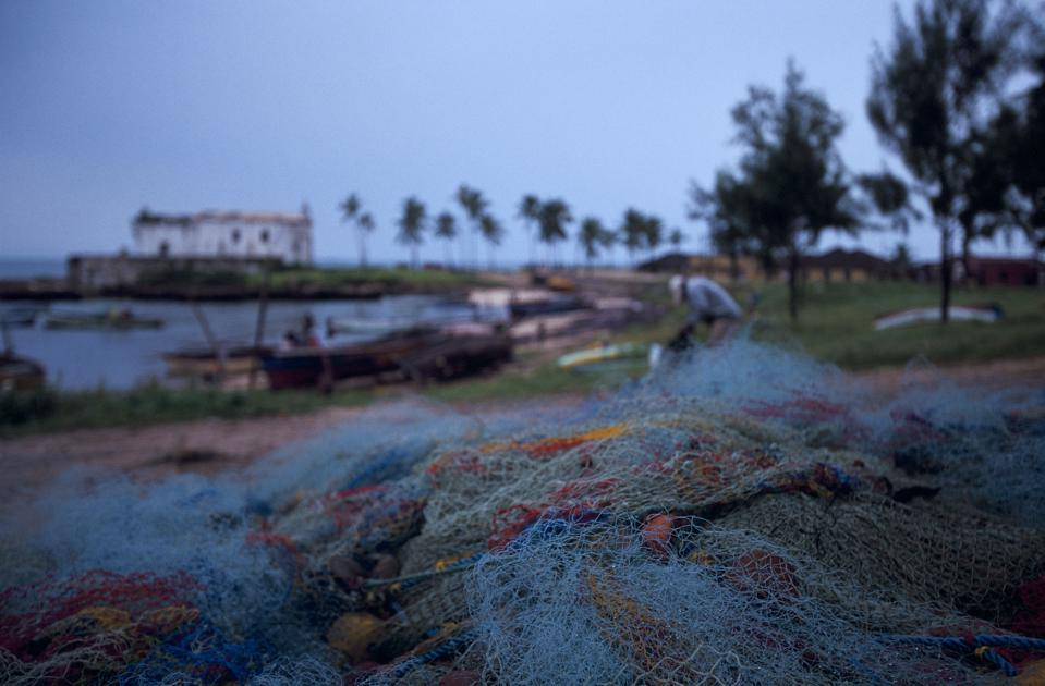 Fishing Nets In Mozambique Island -
