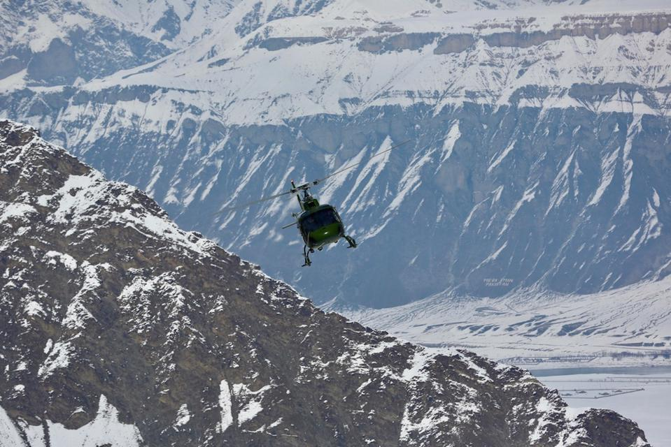Heli-skiing with Cookson Adventures
