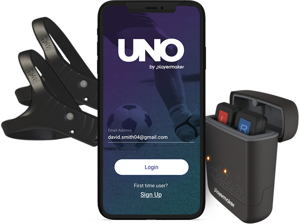 UNO by Playermaker technology.