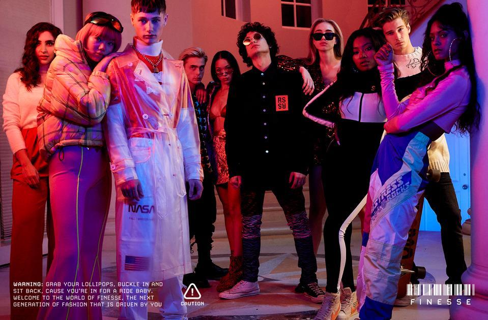 finesse fashion brand, driven by AI