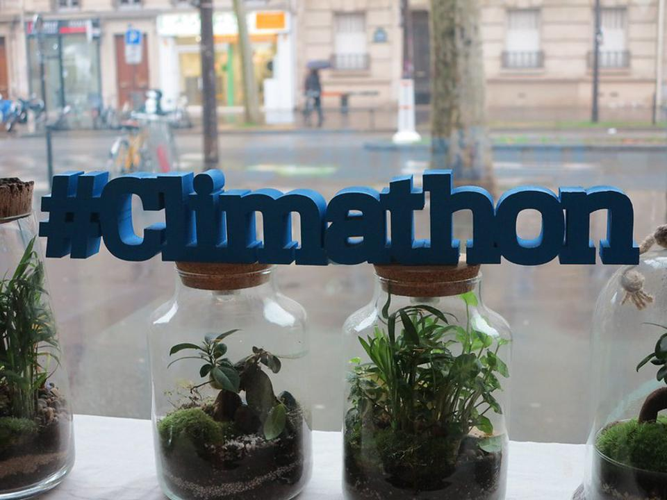 Climathon is a global climate ideathon organized by EIT Climate-KIC