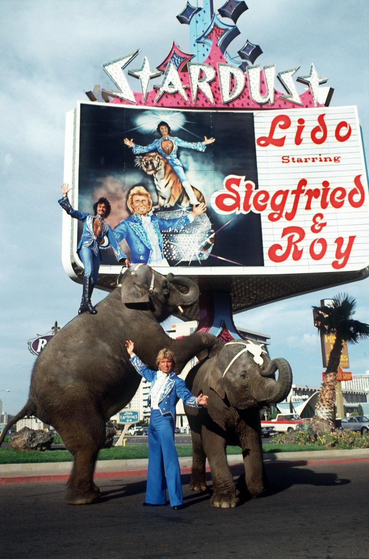 Magier-Duo Siegfried & Roy in Las Vegas