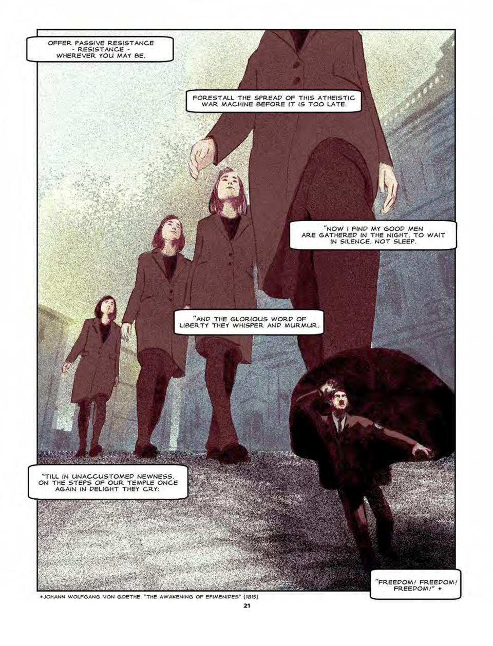Freiheit graphic novel page 21