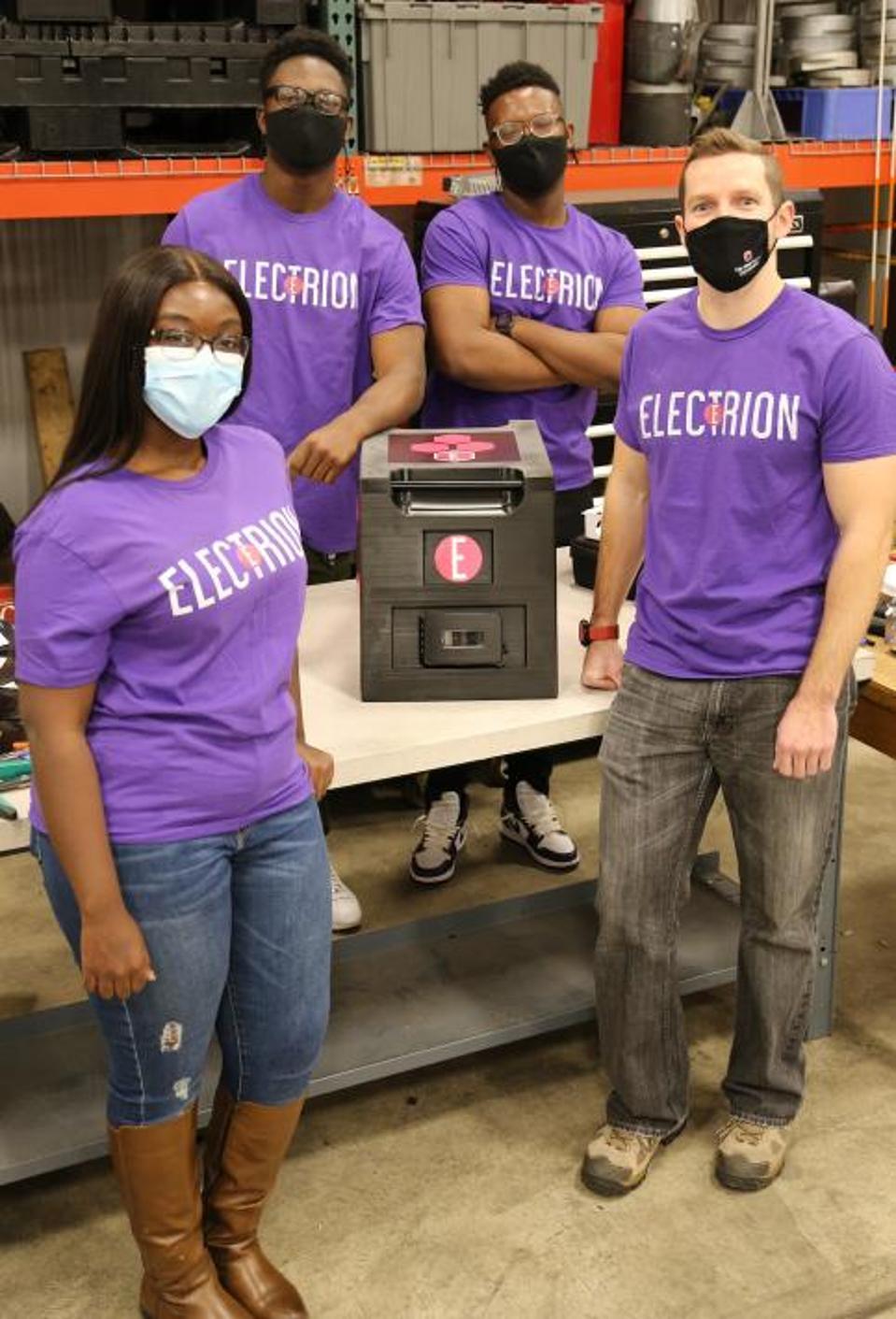 Ohio State Engineering students create new energy startup