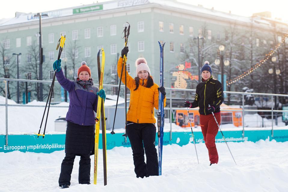 Lahti, Finland, ski share program
