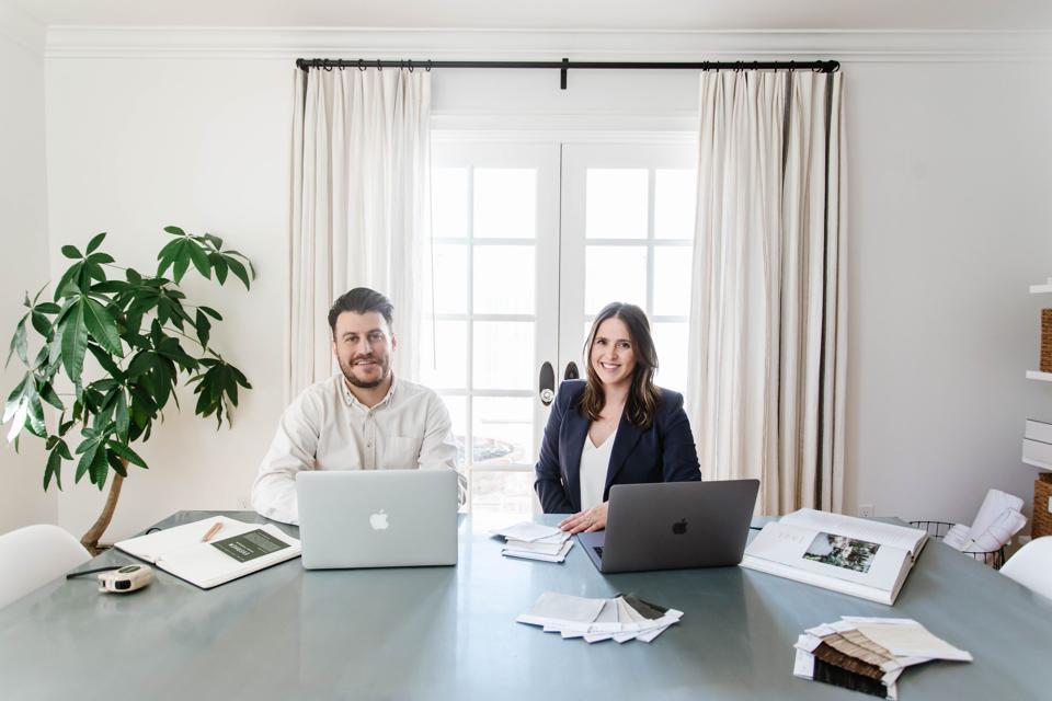 Everhem Co-founders Haley Weidenbaum and husband Adam Weidenbaum