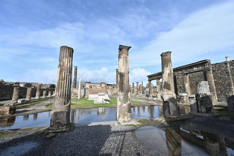 ITALY-ARCHEOLOGY-CULTURE-HERITAGE-POMPEII