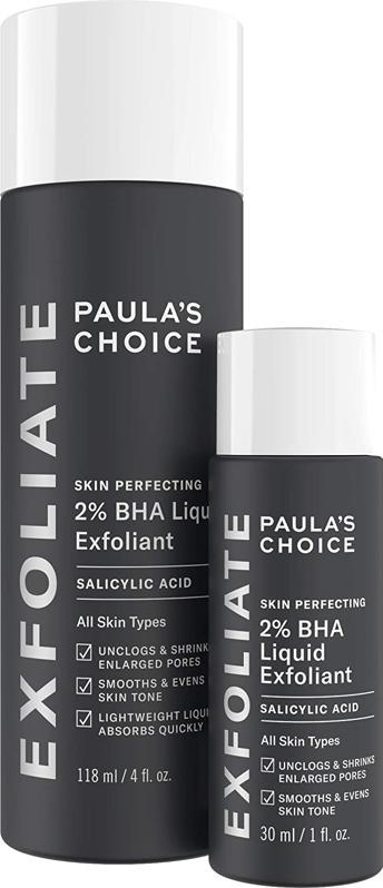 Paula's ChoiceSkin Perfecting 2% BHA Liquid Salicylic Acid Exfoliant Duo