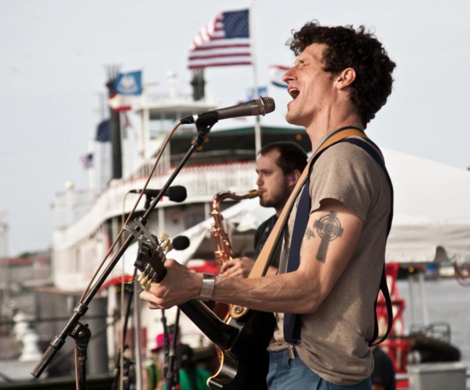 French Quarter Fest on the Mississippi