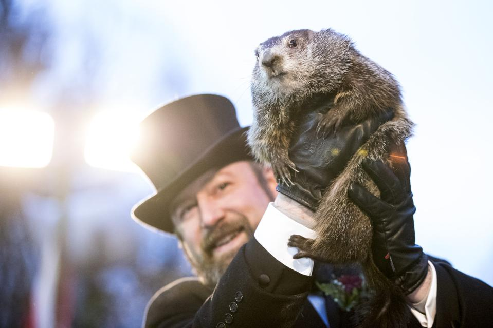 ″Punxsutawney Phil″ Makes Annual Winter Prediction On Groundhog Day