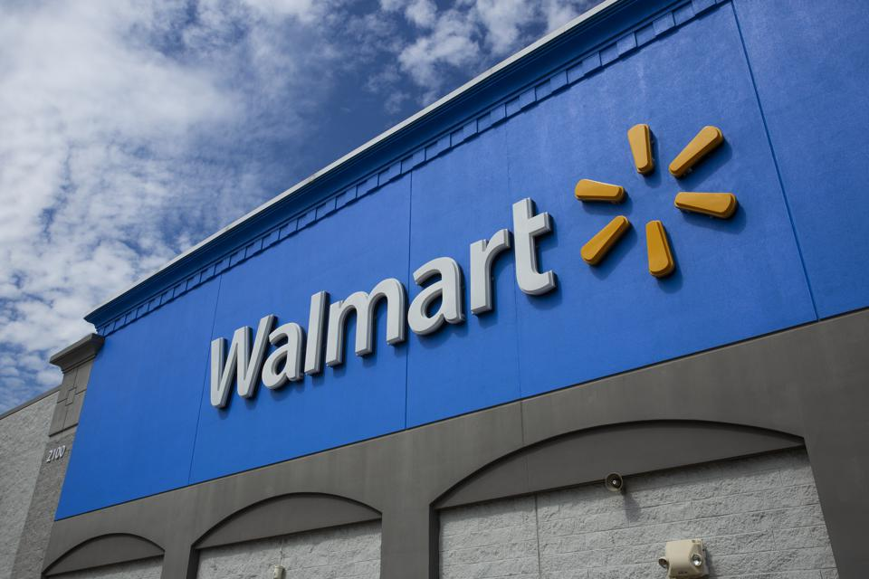 Walmart is building local fulfillment centers within stores or alongside them.  (Photo by Kena Betancur/VIEWpress via Getty Images)
