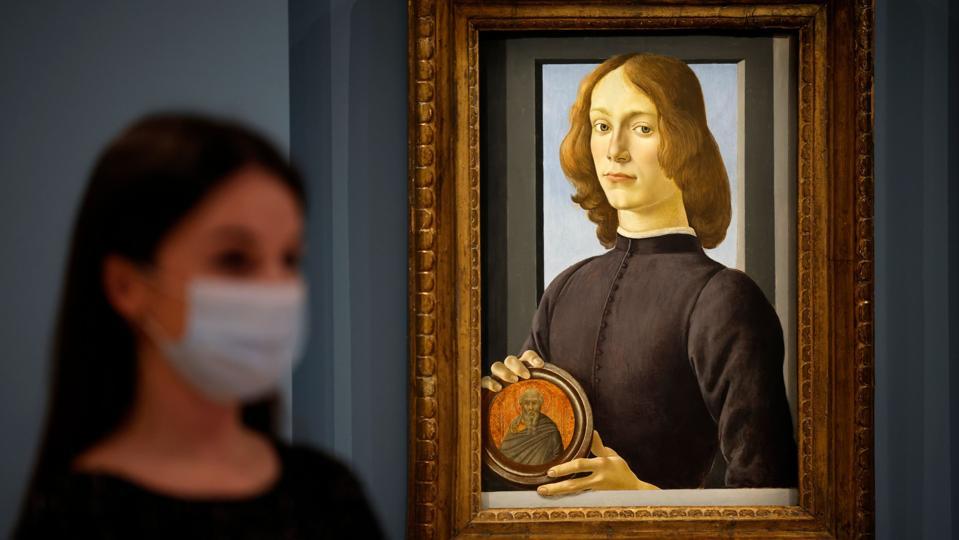BRITAIN-ART-CULTURE-AUCTION-BOTTICELLI