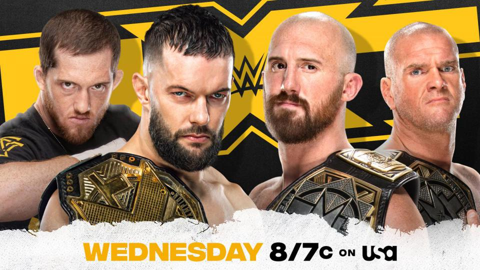 Finn Balor and Kyle O'Reilly teamed up to take on Oney Lorcan and Danny Burch.