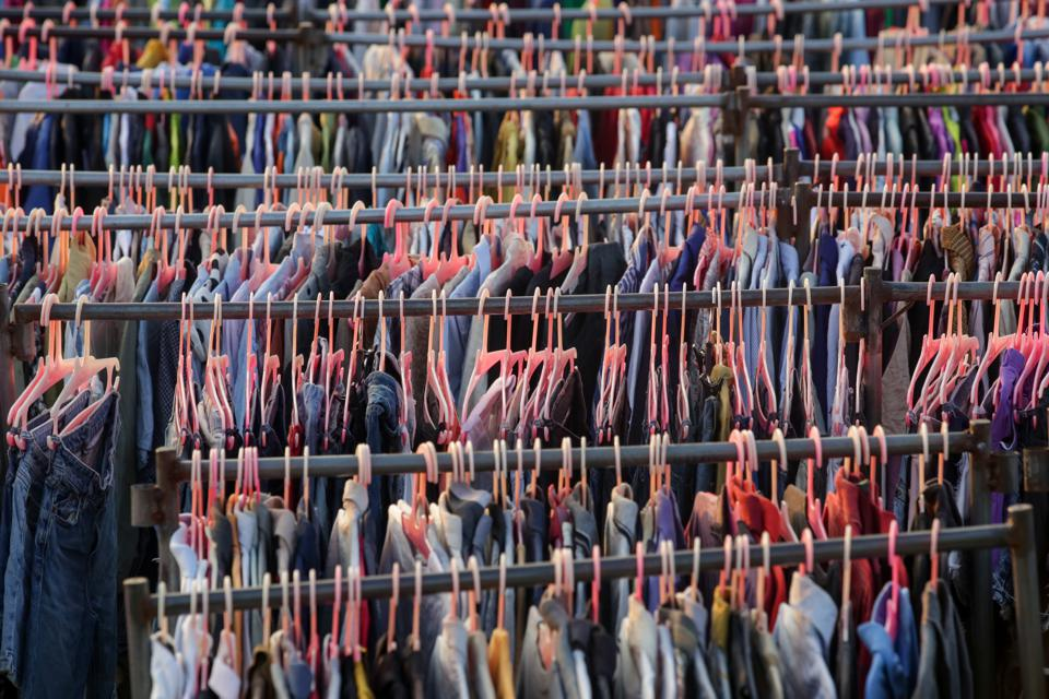 clothes, hangers
