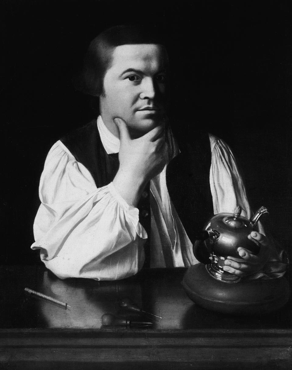 Paul Revere by J.Singleton Copley