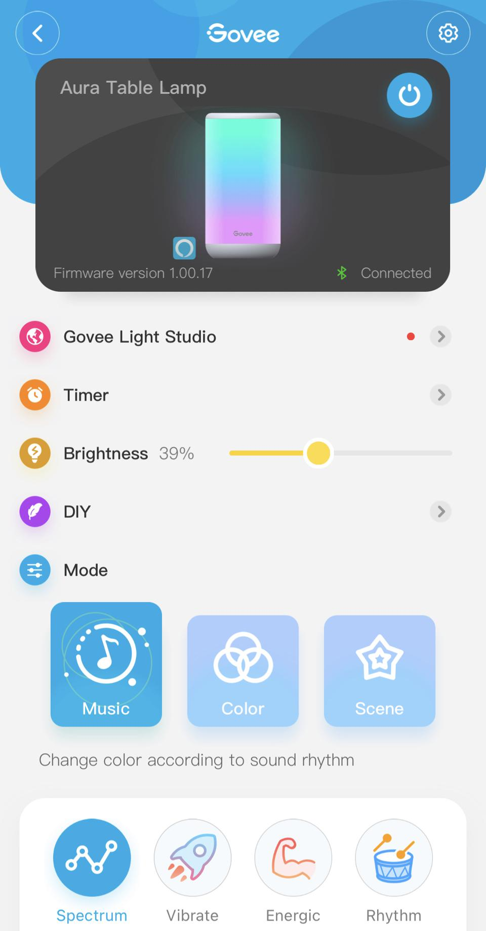 Govee Aura smart table lamp review