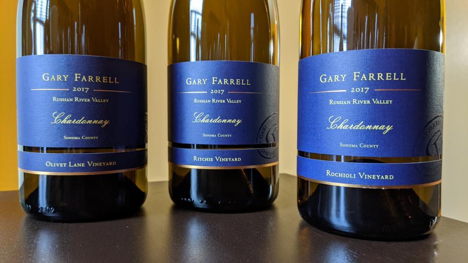 Gary Farrell Single Vineyard Chardonnay Wines