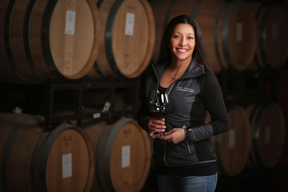 Theresa Heredia, Winemaker at Gary Farrell