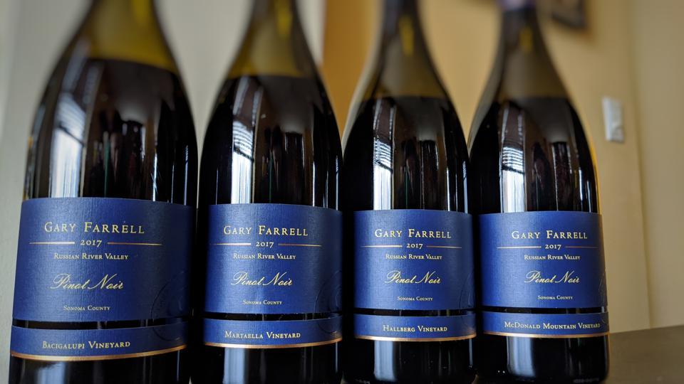 Gary Farrell Single Vineyard Pinot Noir Wines