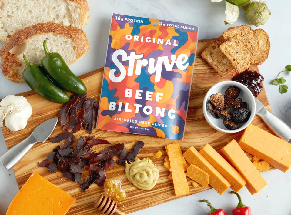 Stryve Foods has helped introduce biltong to American consumers.