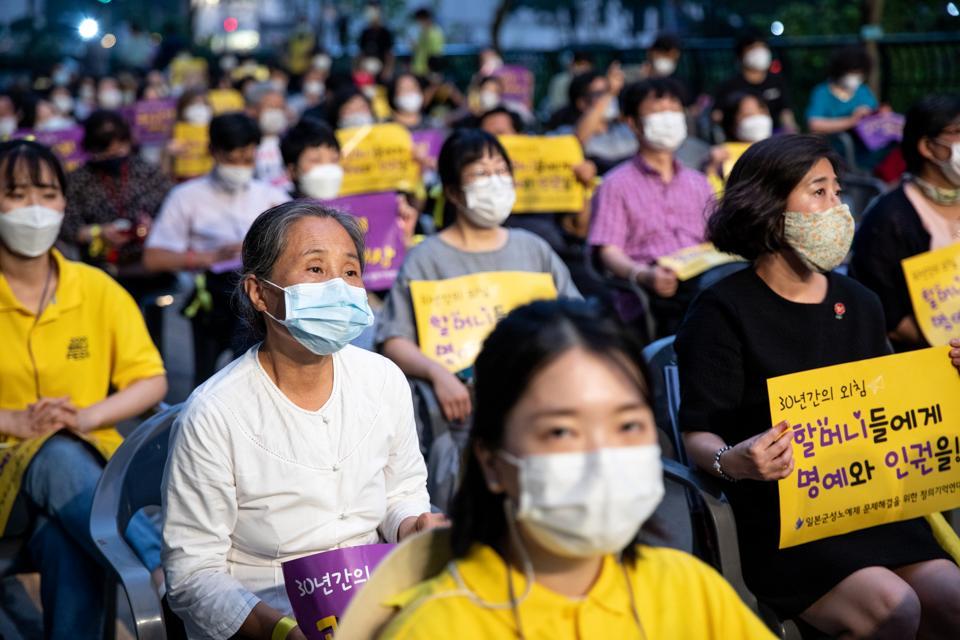 International Memorial Day For World Comfort Women In Seoul