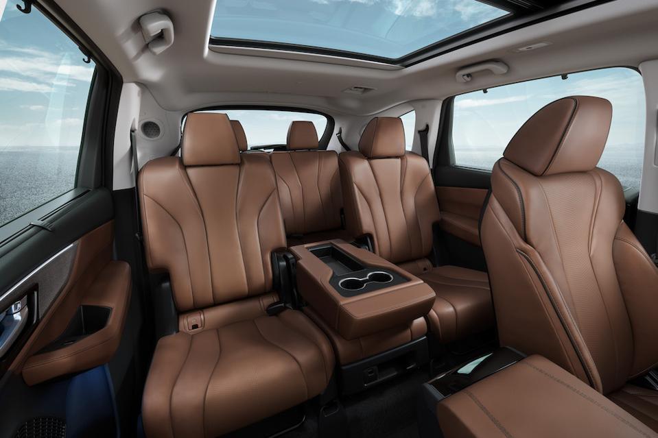 2022 Acura MDX Second Row Seat