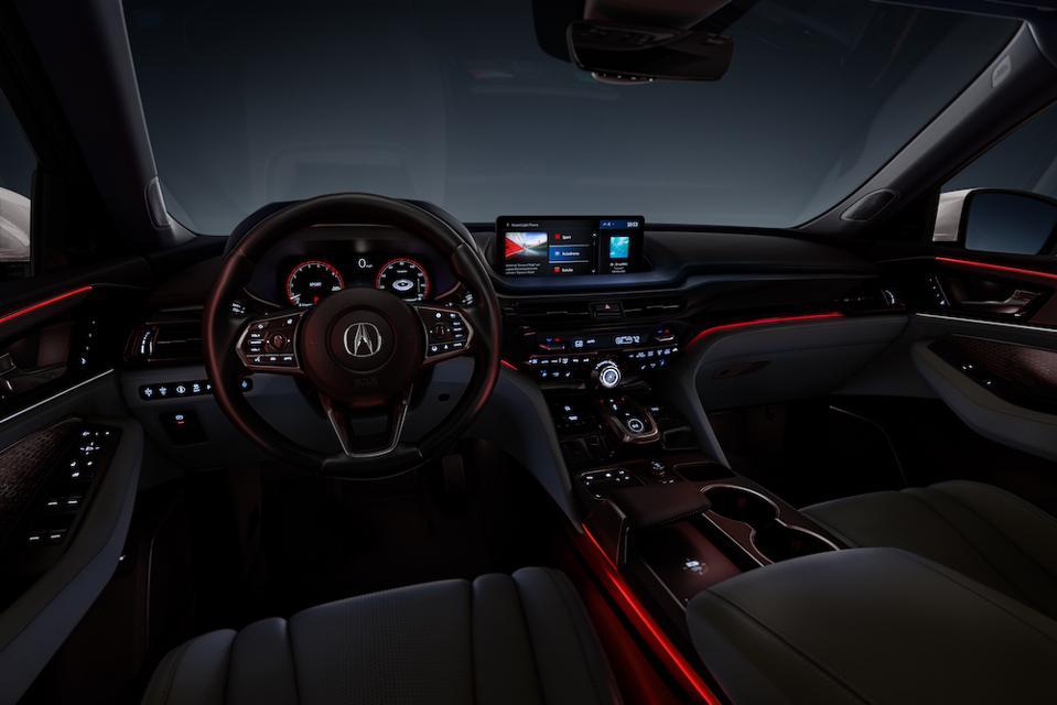 2022 Acura MDX Interior Lighting