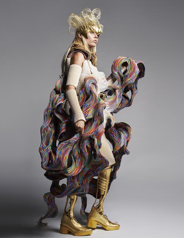 Yuima Nakazato. Couture. Paris Fashion Week.