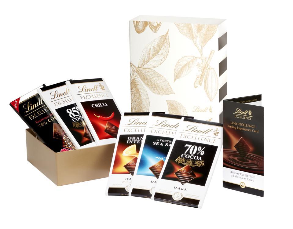 six chocolate bars