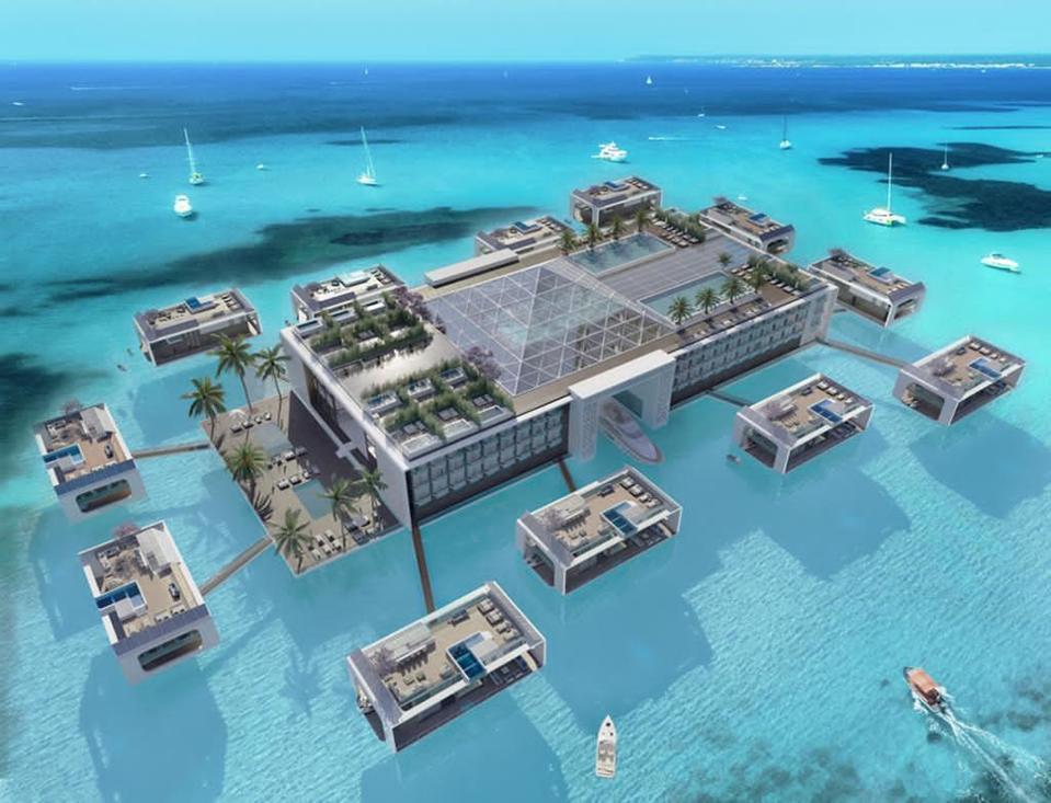Building in water