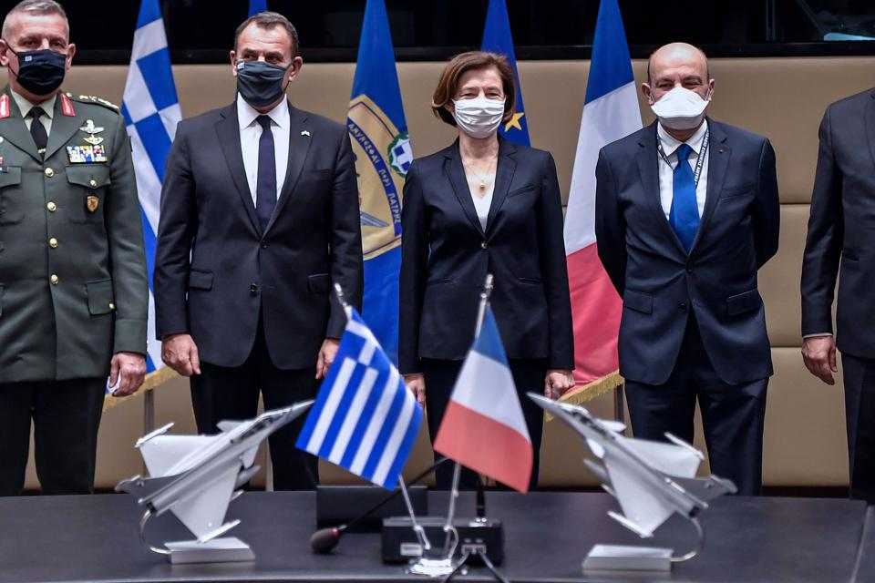 GREECE-FRANCE-DEFENCE-WEAPONS-TURKEY-DIPLOMACY