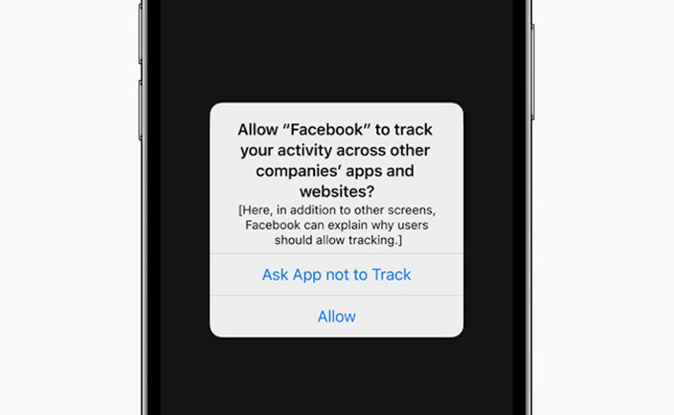 Apple is explicitly targeting Facebook in its new privacy announcement for iOS 14's ATT (app tracking transparency) feature.