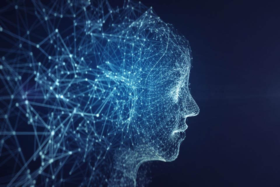 AI robot face