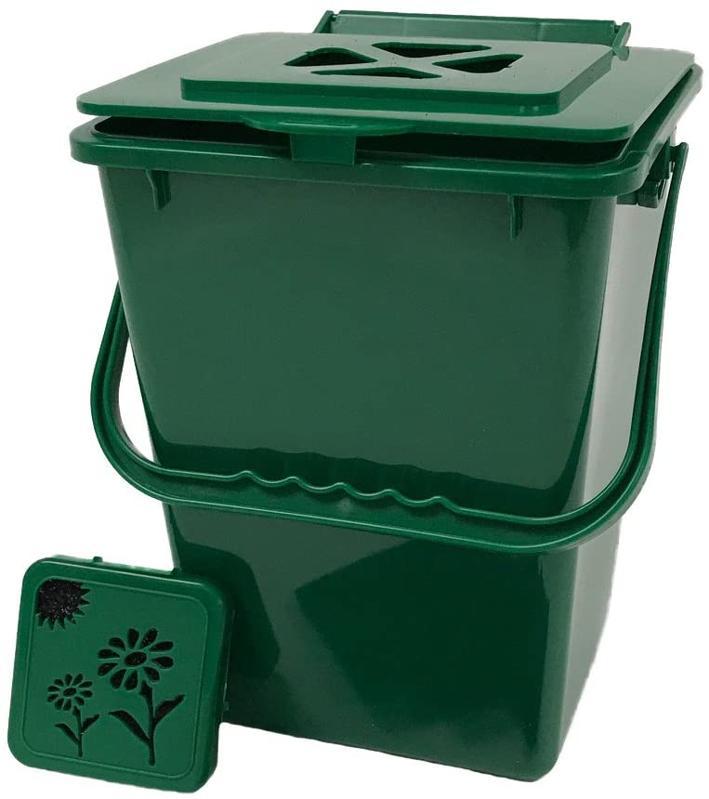 Exaco Eco 2.4 Gallon Kitchen Compost Collector