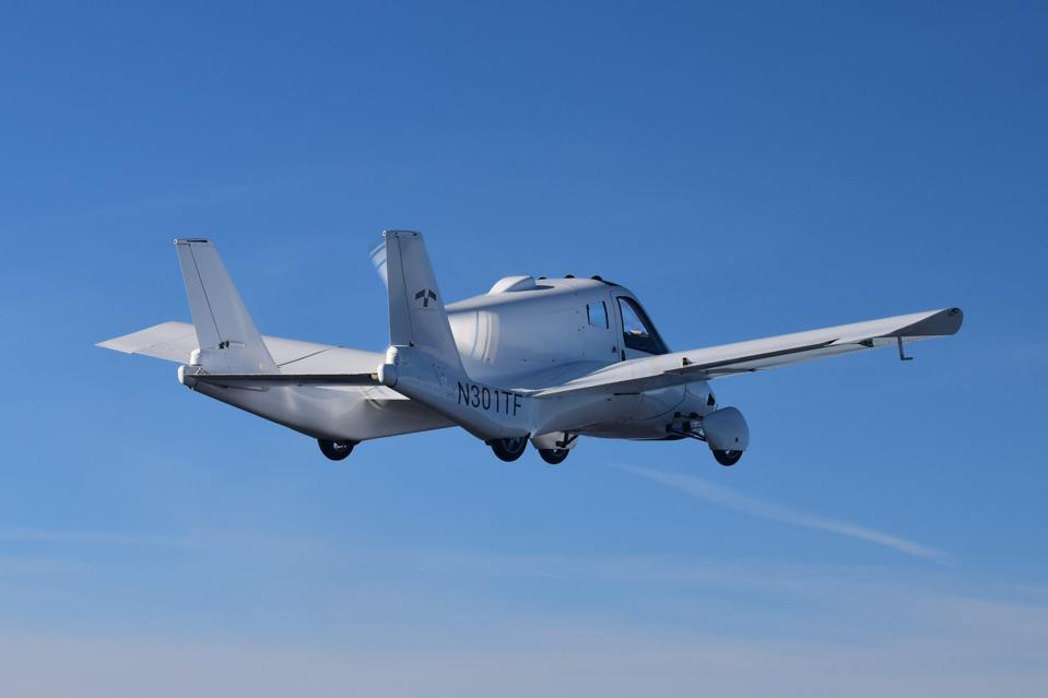 Tarrafugia's hybrid car-airplane has received an FAA airworthiness certificate.