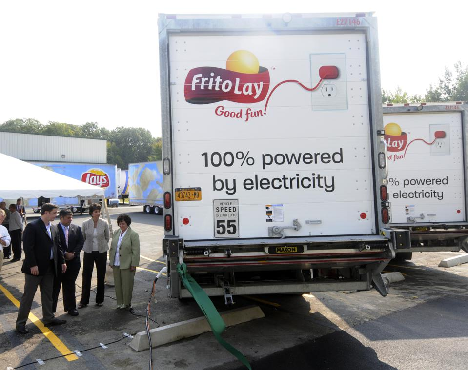 Frito-Lay Charges Forward in New York