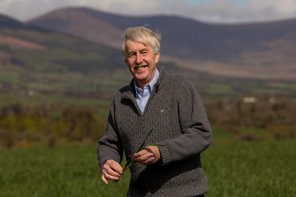 John Flahavan, 7th generation owner and managing director of Flahavan's Irish Oatmeal