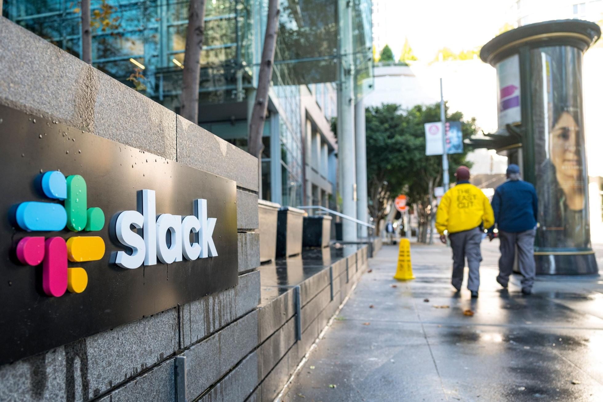 Salesforce To Buy Software Maker Slack For $27.7 Billion