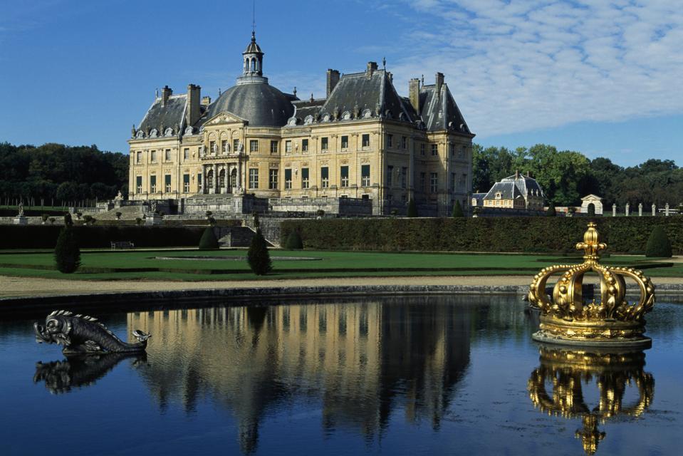 Chateau de Vaux-le-Vicomte, Melun, Ile-de-France
