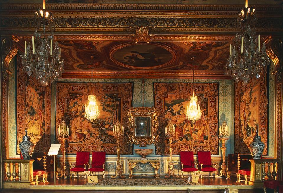 Muses' room, Chateau de Vaux le Vicomte