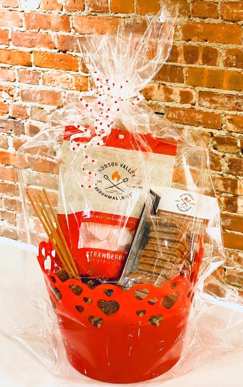 Hudson Valley Marshmallow Spread S'more Love Valentine Gift Basket